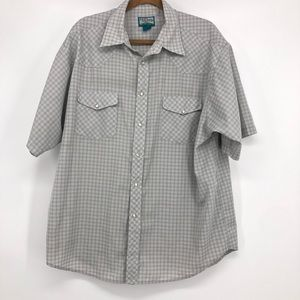 The Original Cascade Men's Snap Front Short Sleeve